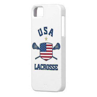 Caso del iphone 5 de los E.E.U.U. LaCrosse iPhone 5 Case-Mate Coberturas