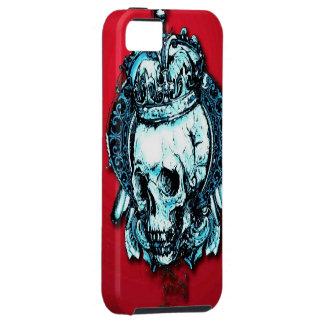 Caso del iPhone 5 de rey Skull iPhone 5 Case-Mate Carcasa