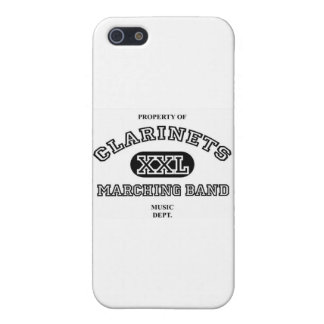 Caso del iPhone 5 del Clarinet iPhone 5 Funda