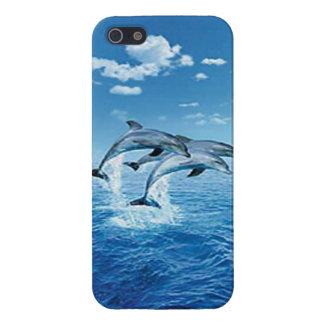 Caso del iPhone 5 del delfín del aire iPhone 5 Cárcasa