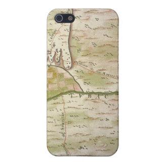 Caso del iPhone 5 del mapa de Presidio de San Igna iPhone 5 Cárcasa
