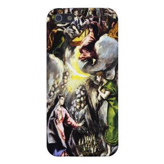 Caso del iPhone 5 del Virgen María del anuncio de  iPhone 5 Carcasas