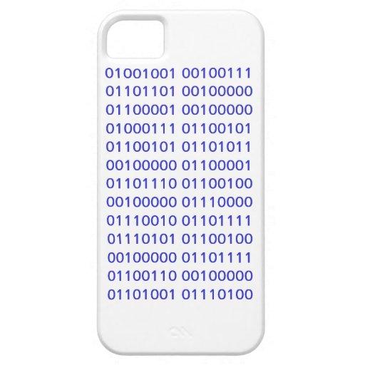 caso del iPhone 5 - friki iPhone 5 Case-Mate Carcasas