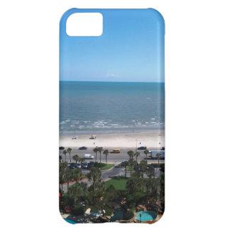 Caso del iPhone 5C de la bahía de Galveston Funda iPhone 5C