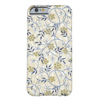 Caso del iPhone 6/6S Barely There del jazmín azul Funda Barely There iPhone 6