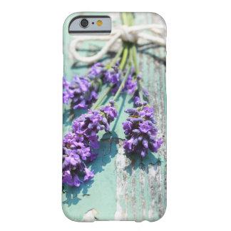 caso del iPhone 6/6s con lavanda macra hermosa Funda Barely There iPhone 6