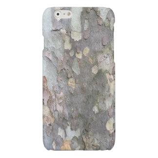 Caso del iPhone 6/6s de la corteza de árbol