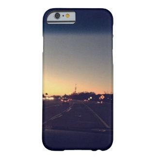 Caso del iPhone 6/6s de la puesta del sol de los Funda Barely There iPhone 6