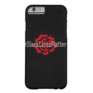 caso del iPhone 6/6s del #BlackLivesMatter Funda Barely There iPhone 6