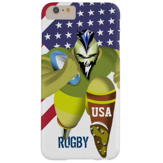Caso del iPhone 6/6S del rugbi de la bandera Funda Barely There iPhone 6 Plus