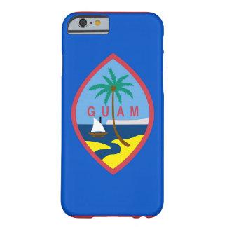 caso del iPhone 6 con la bandera de Guam Funda Para iPhone 6 Barely There
