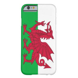 caso del iPhone 6 con la bandera de País de Gales Funda De iPhone 6 Barely There