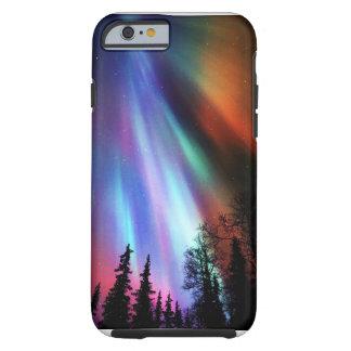 Caso del iPhone 6 de Borealis de la aurora Funda De iPhone 6 Tough