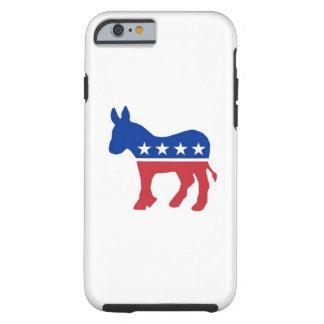 Caso del iPhone 6 de Demócrata Funda Para iPhone 6 Tough