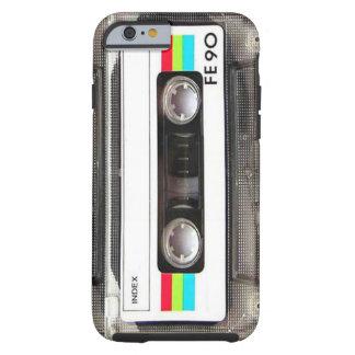 Caso del iPhone 6 de la cinta de casete Funda De iPhone 6 Tough