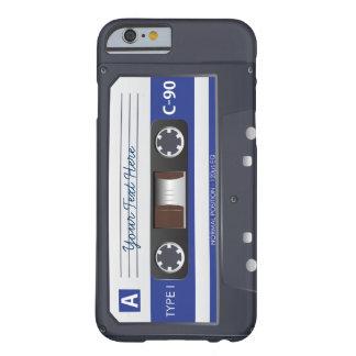 Caso del iPhone 6 de la cinta de casete Funda De iPhone 6 Barely There
