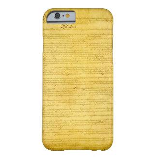 Caso del iPhone 6 de la constitución Funda Para iPhone 6 Barely There