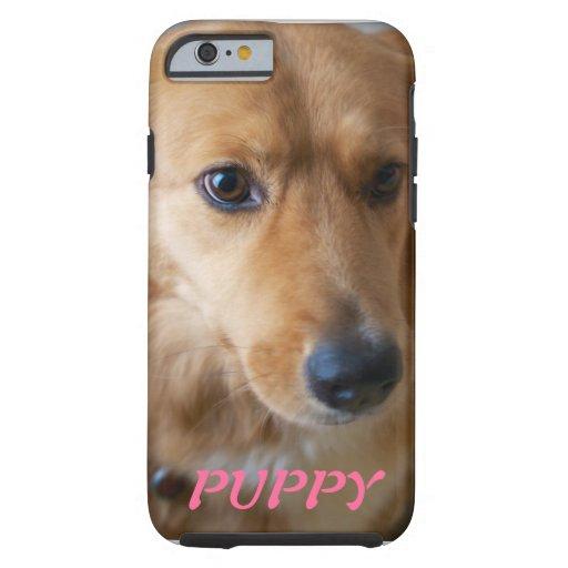 Caso del iPhone 6 de la foto del mascota del Funda De iPhone 6 Tough