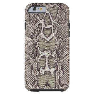 Caso del iPhone 6 de la piel de serpiente Funda Para iPhone 6 Tough