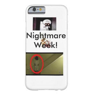 Caso del iPhone 6 de la semana de la pesadilla Funda Barely There iPhone 6