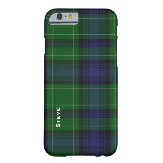 Caso del iPhone 6 de la tela escocesa de tartán Funda De iPhone 6 Barely There