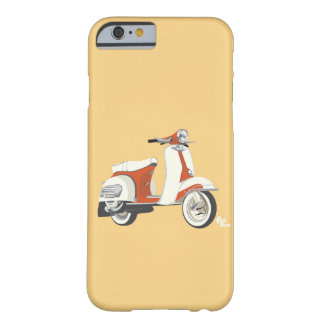 Caso del iPhone 6 de la vespa Funda Barely There iPhone 6