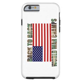 Caso del iPhone 6 de los campeones de la guerra Funda Resistente iPhone 6