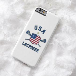 Caso del iPhone 6 de los E.E.U.U. LaCrosse Funda Para iPhone 6 Barely There