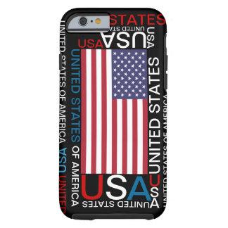 Caso del iPhone 6 de los Estados Unidos de América Funda De iPhone 6 Tough