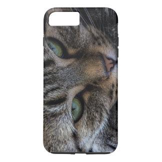 Caso del iPhone 6 de los ojos de gato Funda iPhone 7 Plus