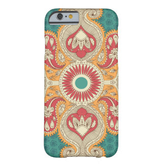 Caso del iPhone 6 de Paisley del vintage Funda Barely There iPhone 6