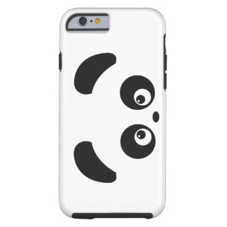Caso del iPhone 6 de Panda® del amor Funda De iPhone 6 Tough