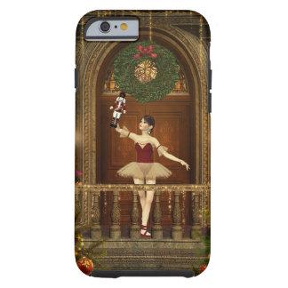 Caso del iPhone 6 del cascanueces de la bailarina Funda De iPhone 6 Tough
