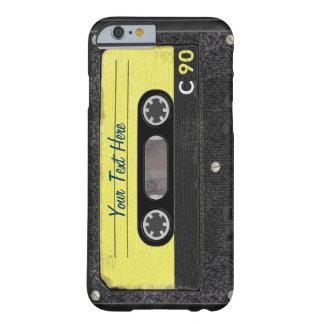 Caso del iPhone 6 del casete de la escuela vieja Funda Para iPhone 6 Barely There