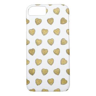 Caso del iPhone 6 del corazón del caramelo del Funda iPhone 7
