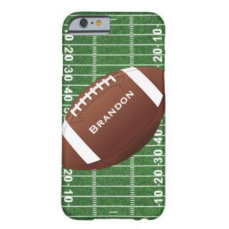Caso del iPhone 6 del diseño del fútbol Funda Barely There iPhone 6
