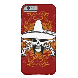 Caso del iPhone 6 del EL Bandito Funda Para iPhone 6 Barely There