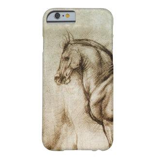 Caso del iPhone 6 del estudio del caballo de da Funda De iPhone 6 Barely There