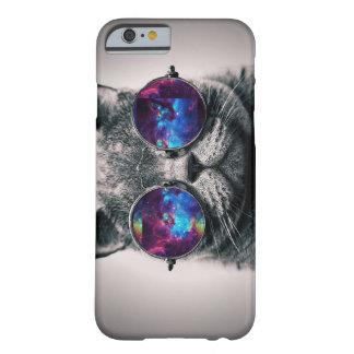 Caso del iPhone 6 del gato de la galaxia Funda Barely There iPhone 6