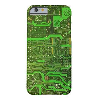 caso del iPhone 6 del modelo del microchip del Funda Para iPhone 6 Barely There