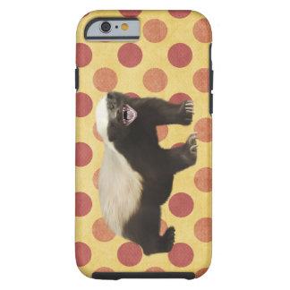 Caso del iPhone 6 del tejón de miel Funda De iPhone 6 Shell
