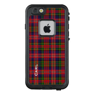 Caso del iPhone 6S de LifeProof de la tela