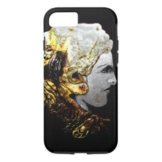 caso del iPhone 7 con Alexander el gran casco del Funda iPhone 7
