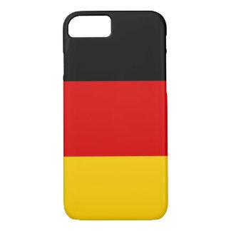 caso del iPhone 7 con la bandera de Alemania Funda iPhone 7
