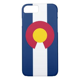 caso del iPhone 7 con la bandera de Colorado Funda iPhone 7