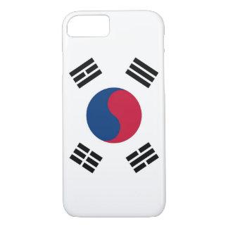 caso del iPhone 7 con la bandera de la Corea del Funda iPhone 7