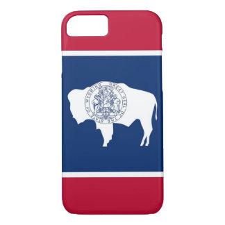 caso del iPhone 7 con la bandera de Wyoming Funda iPhone 7