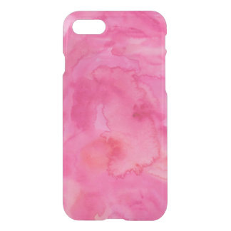 Caso del iPhone 7 de la acuarela de las rosas Funda Para iPhone 7