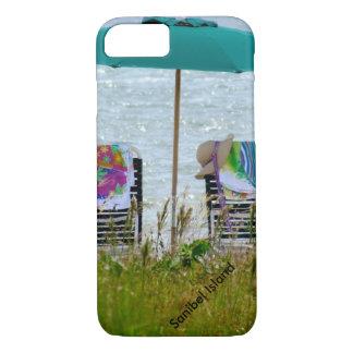 Caso del iPhone 7 de la escena de la playa Funda Para iPhone 8/7