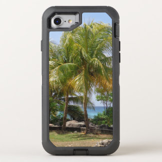 Caso del iPhone 7 de la palmera Funda OtterBox Defender Para iPhone 7